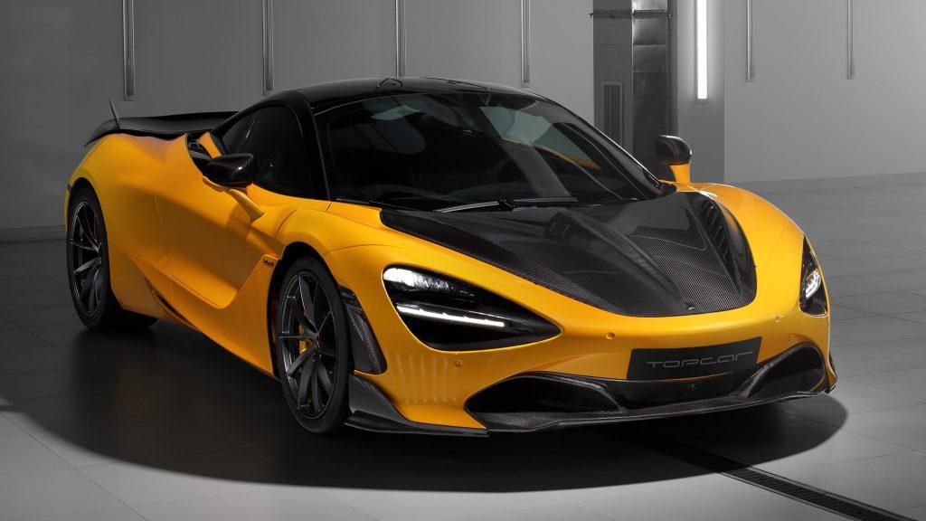 Топовый автомобиль mclaren 720s fury 2021 2 автомобиля обои скачать