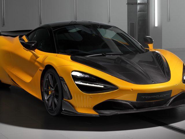 Топовый автомобиль mclaren 720s fury 2021 2 автомобиля