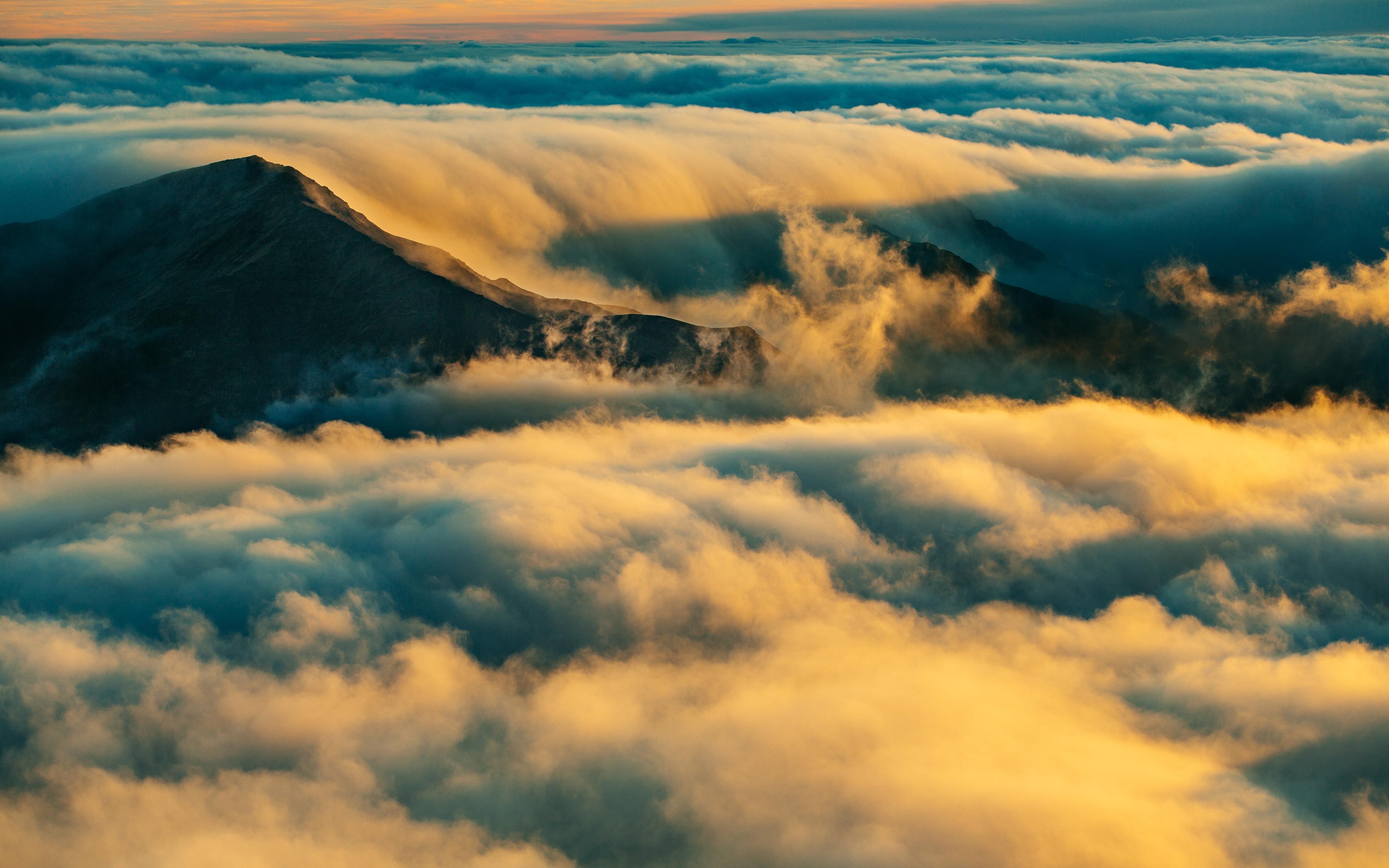 Море облаков обои скачать