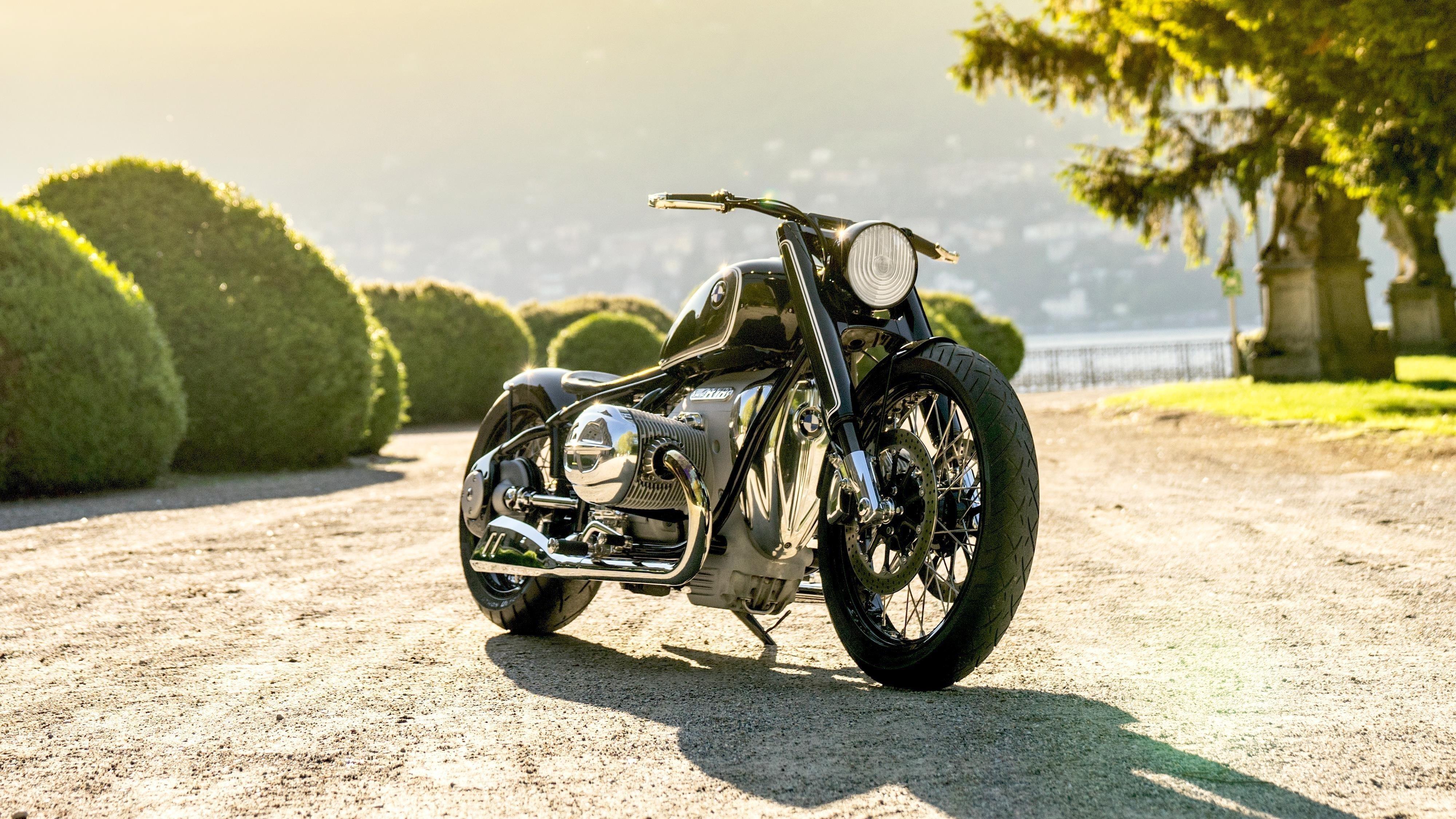 Bmw motorrad concept r18 2019 обои скачать