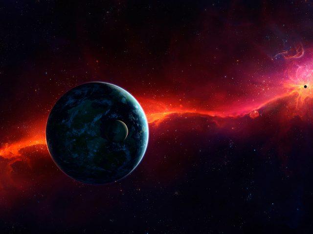 Космос планеты.
