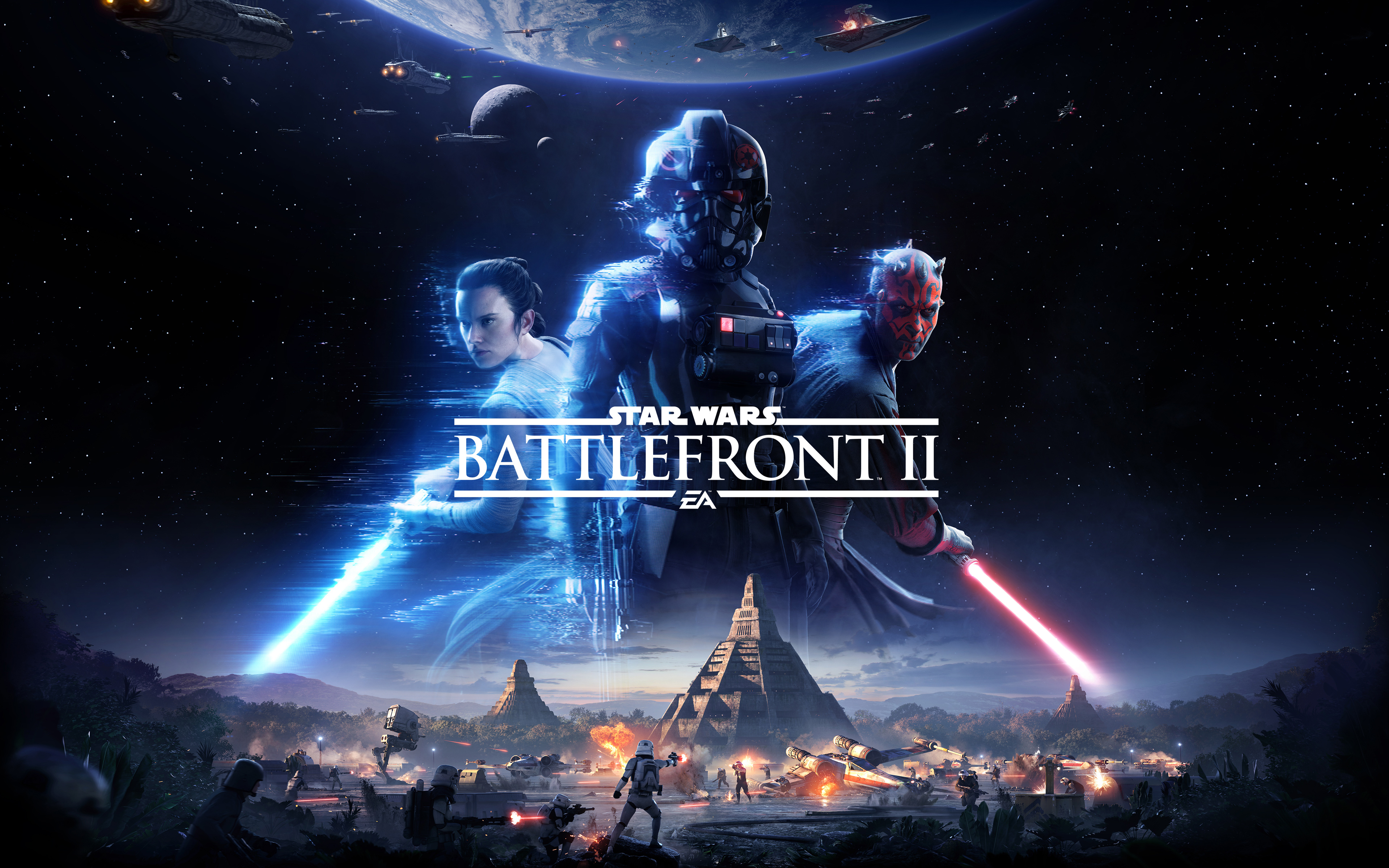 Star wars battlefront ii 5k. обои скачать