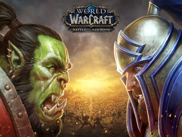 World of warcraft Битва за азерот