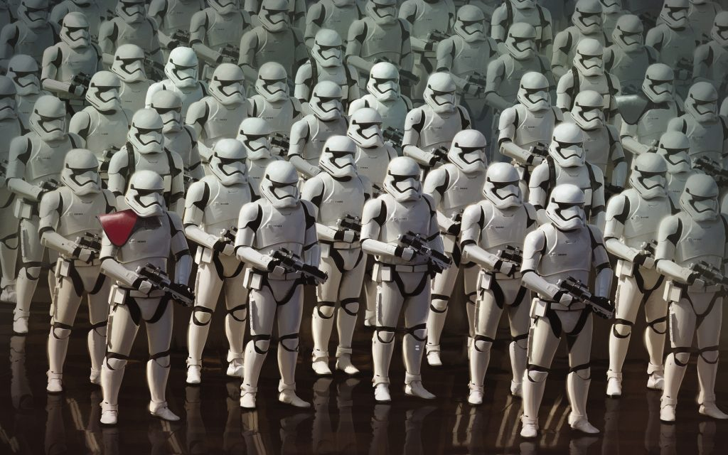 Star wars the force awakens stormtroopers обои скачать