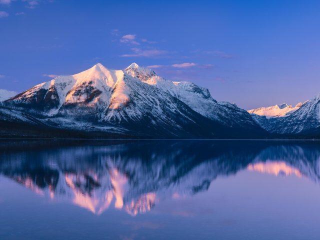 Национальный парк ледник озера Макдональд