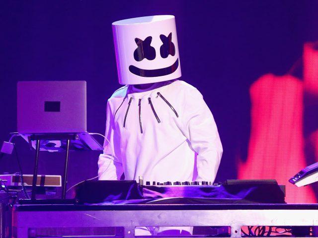 Marshmello american dj live концерт