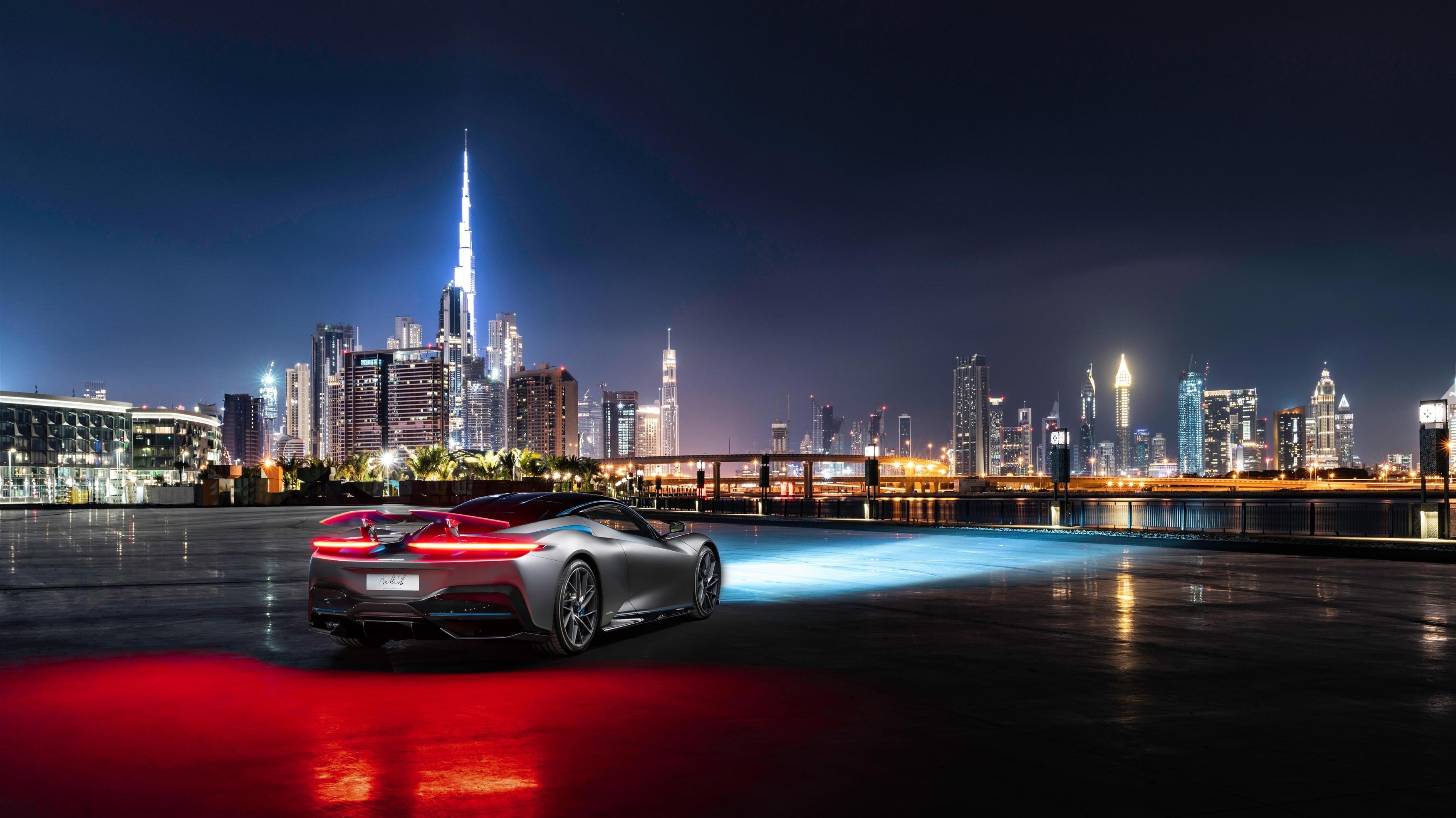 Pininfarina battista в Дубае 2019 обои скачать