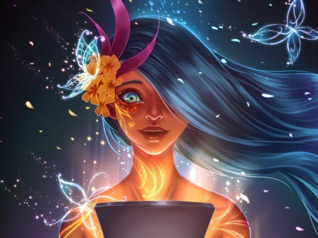 Волшебная девочка