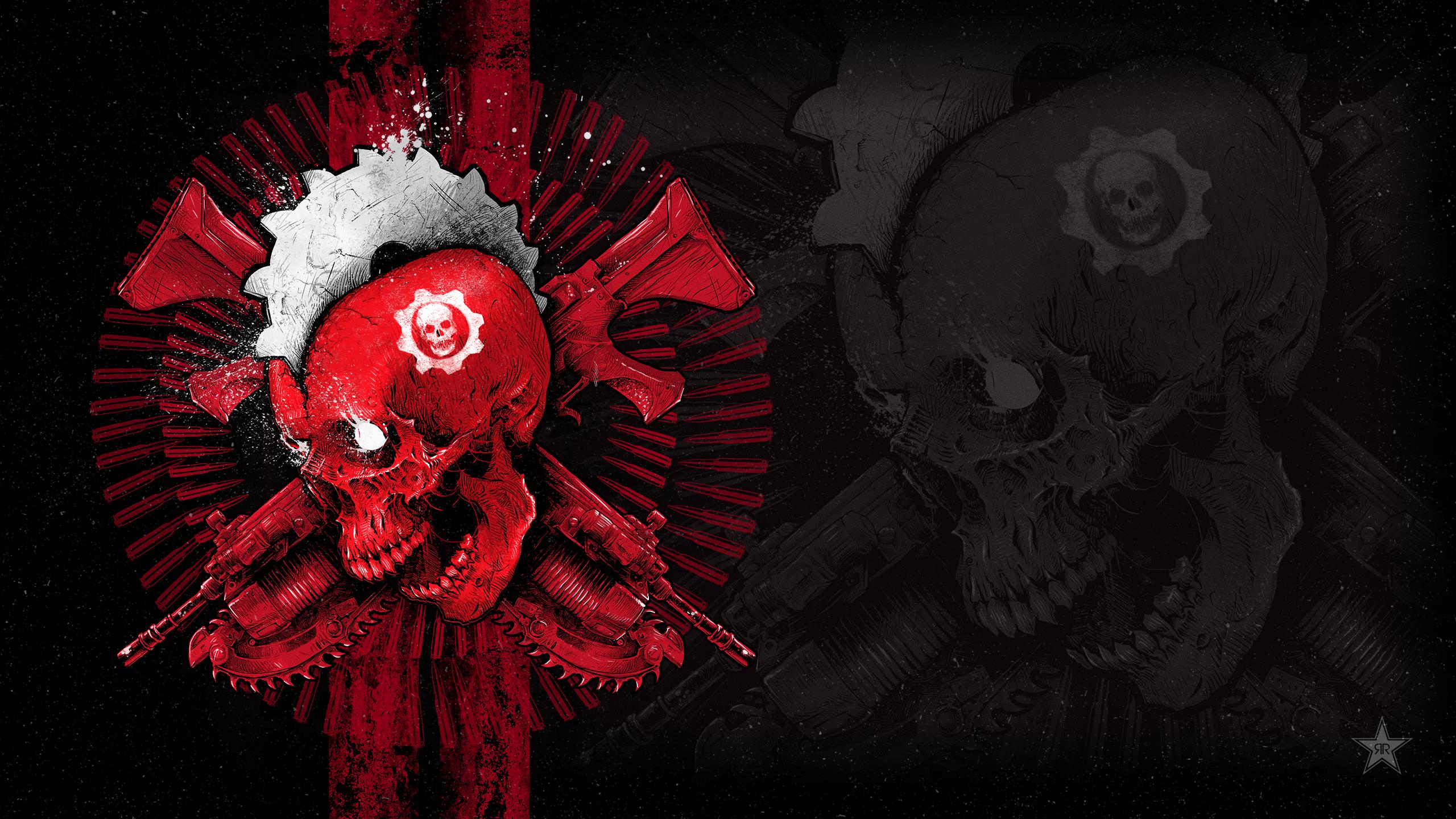 Gears войны 4 godmachine обои скачать