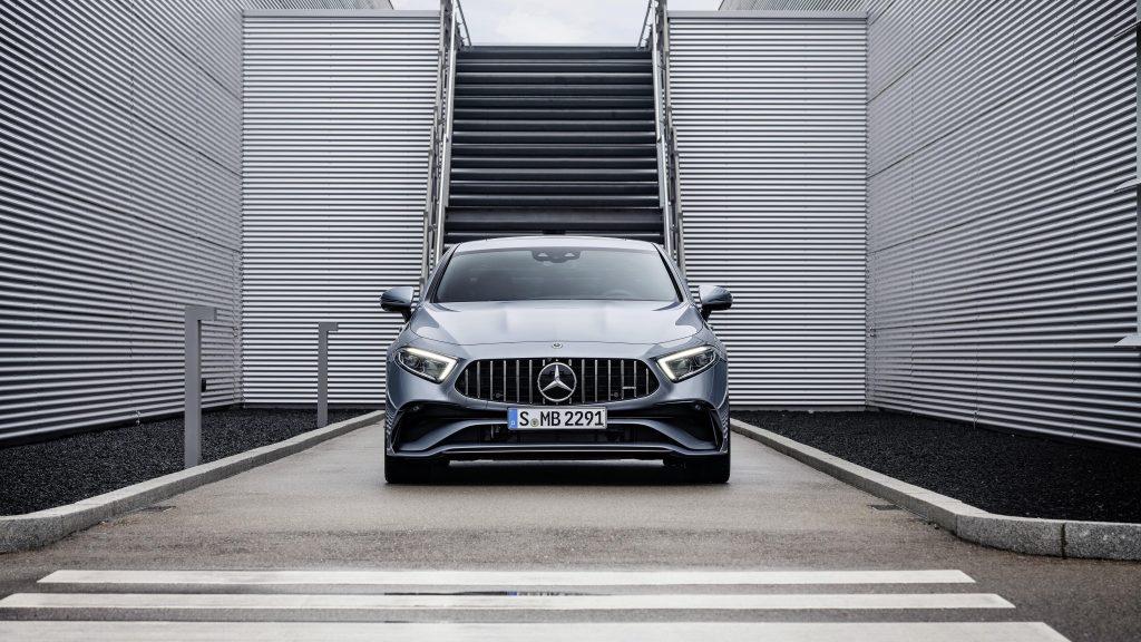 Mercedes amg cls 53 4matic 2021 4 автомобиля обои скачать