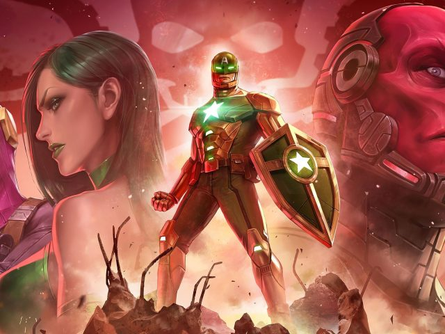 Marvel будущего борьбе