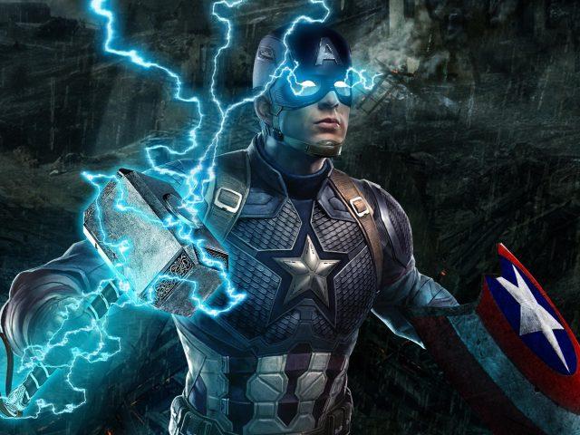 Капитан Америка в эндшпиле Мстителей