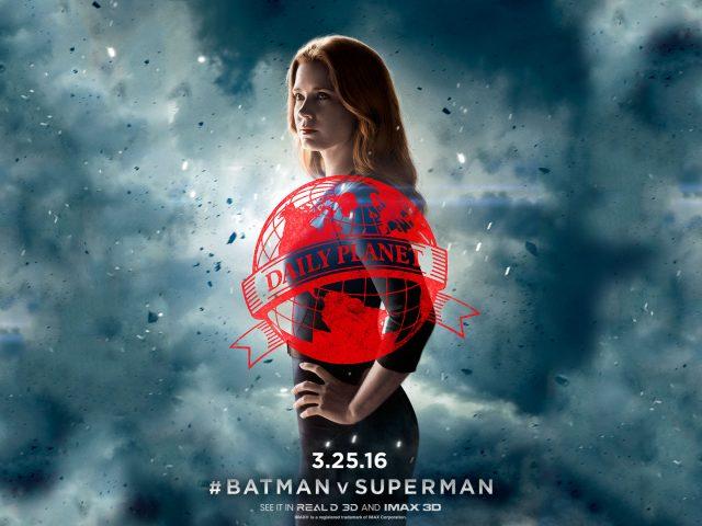 Эми Адамс-Лоис Бэтмен против супермена.