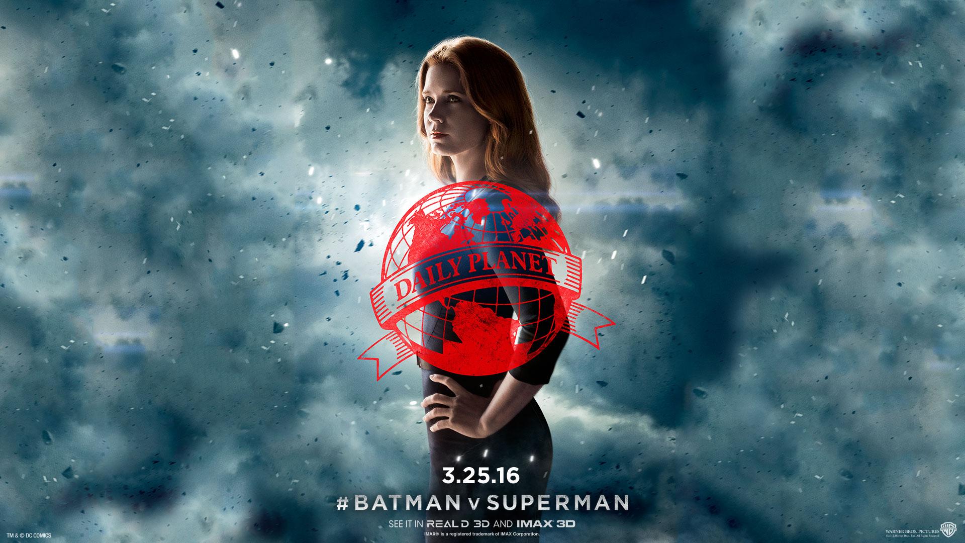 Эми Адамс-Лоис Бэтмен против супермена. обои скачать