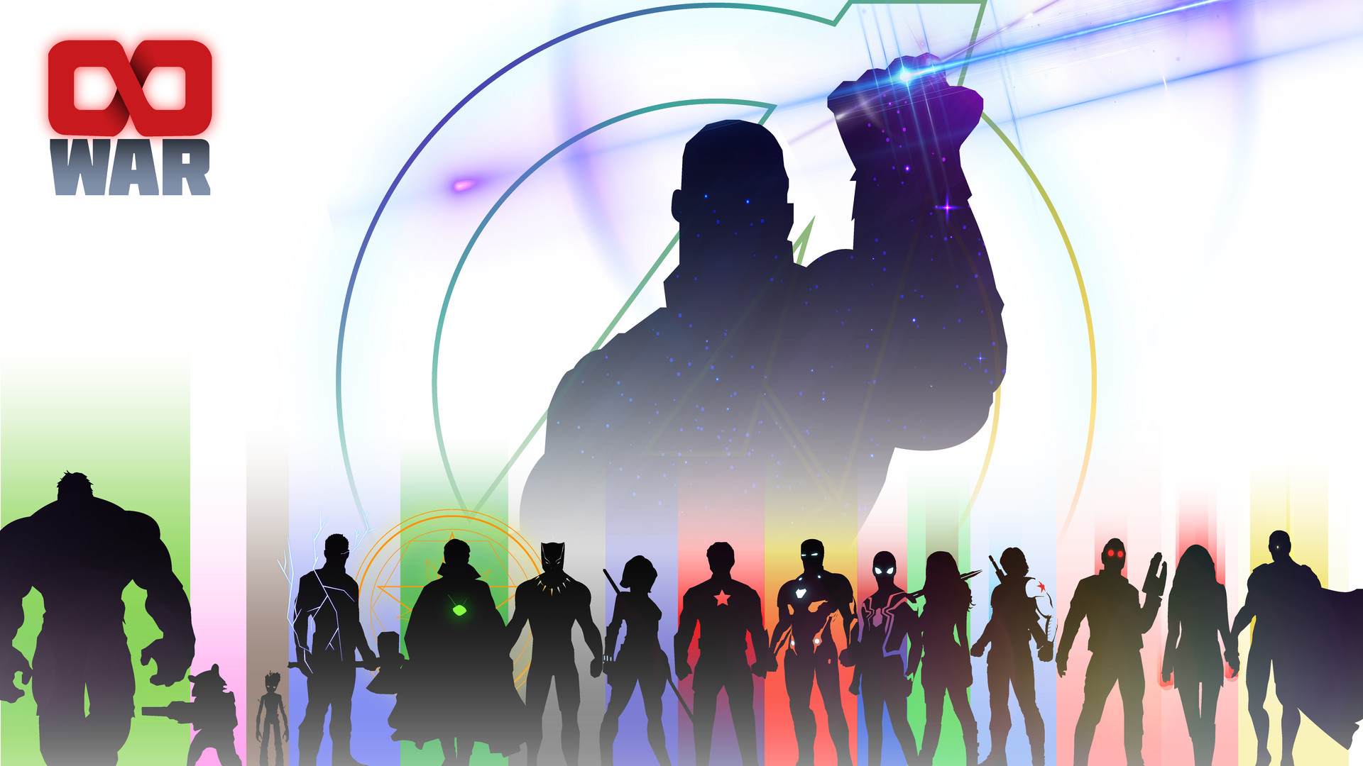 Avengers infinity War фан-арт обои скачать