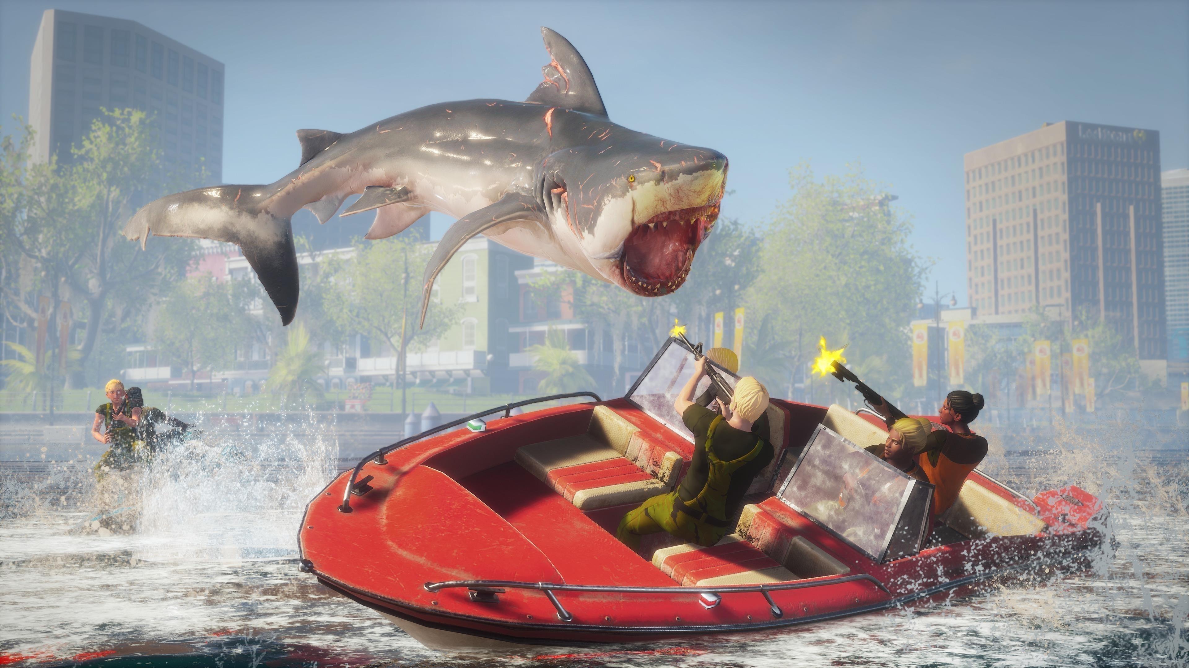 Людоед бычья акула обои скачать