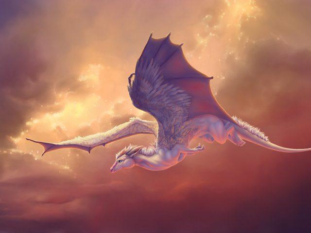 Pegasus летающий лошадь дракон.