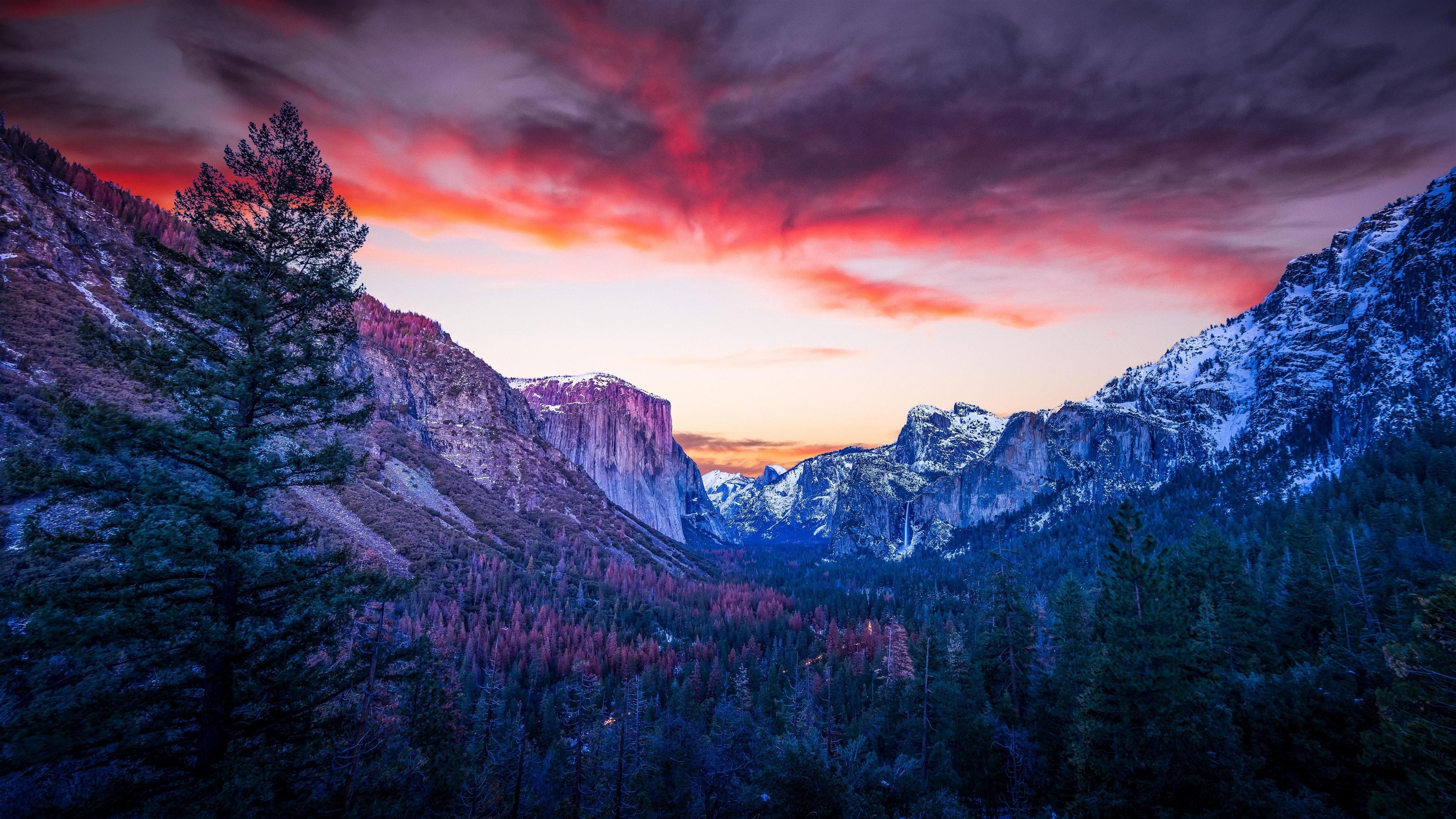 Йосемитская долина обои скачать