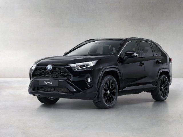 Toyota rav4 hybrid black edition 2020 автомобили
