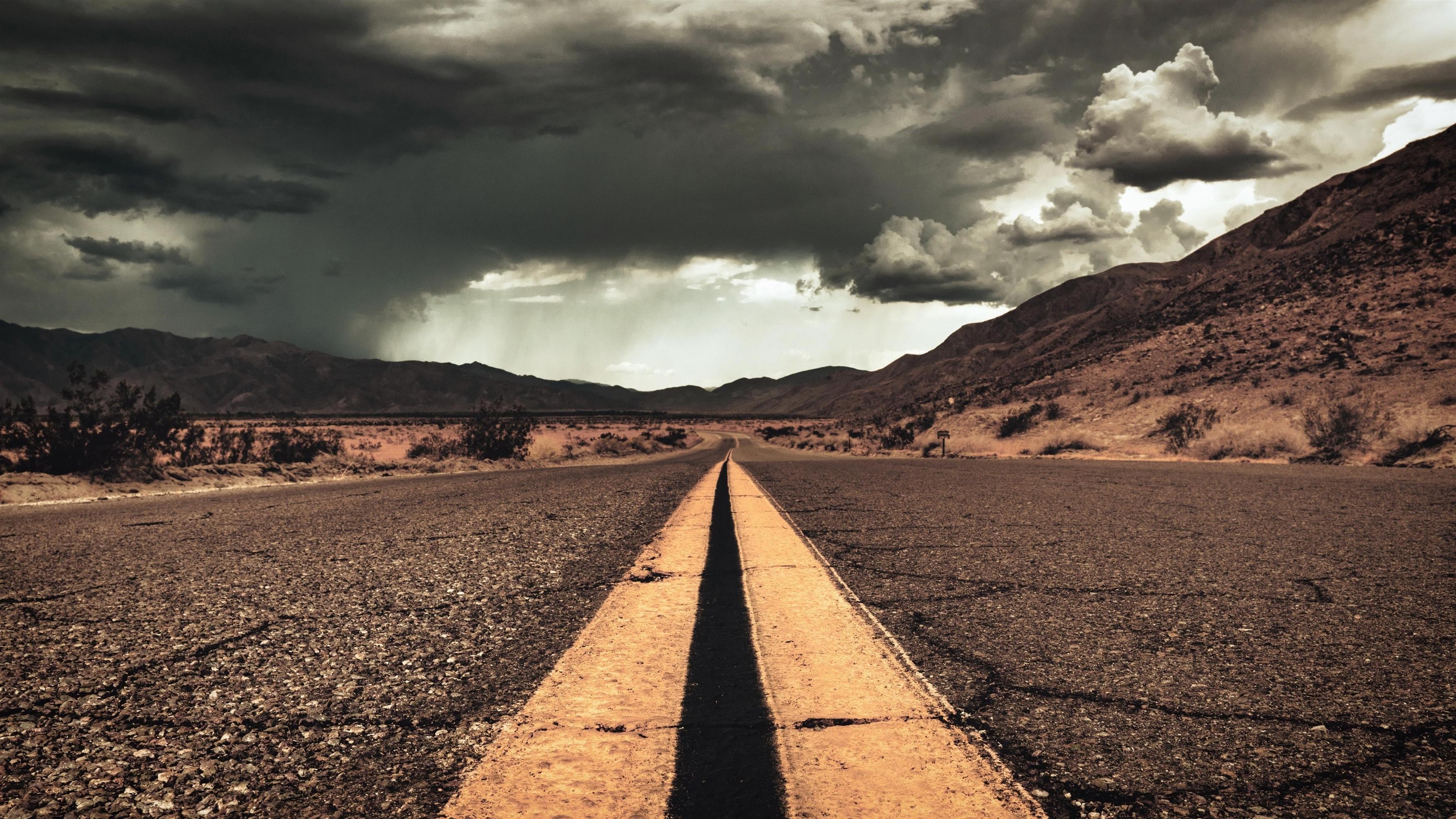 Искусственная дорога обои скачать