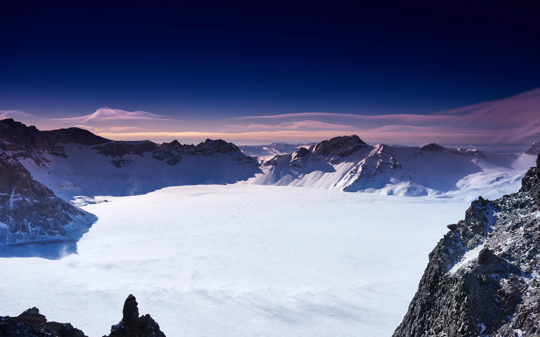 Китай снежные горы. обои скачать
