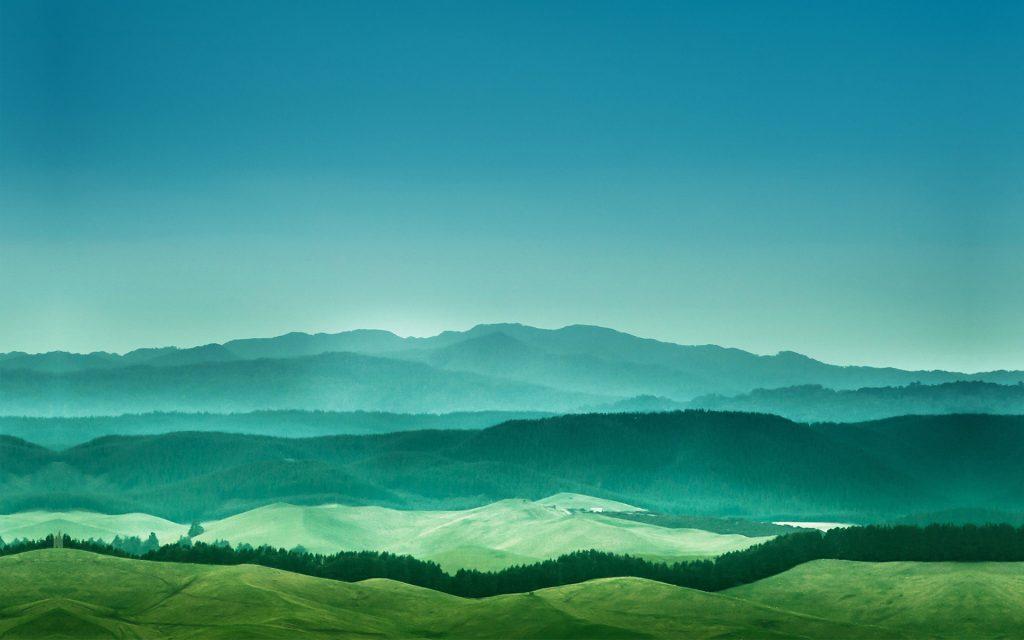 Далекие горы. обои скачать