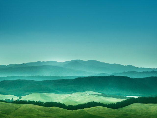 Далекие горы.