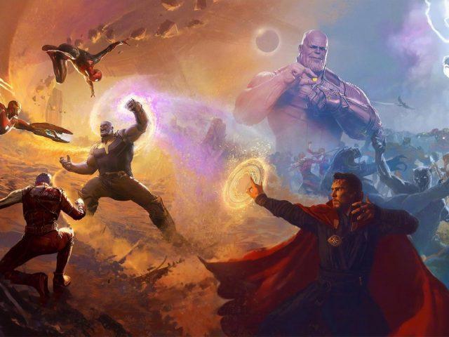 Мстители бесконечность войны финальная битва