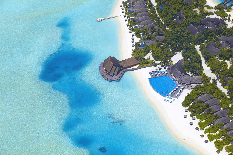 Maldives, pool, Мальдивы, море обои скачать