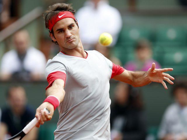Роджер Федерер швейцарский теннисист.