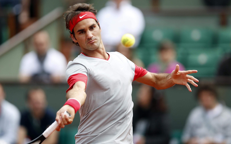 Роджер Федерер швейцарский теннисист. обои скачать