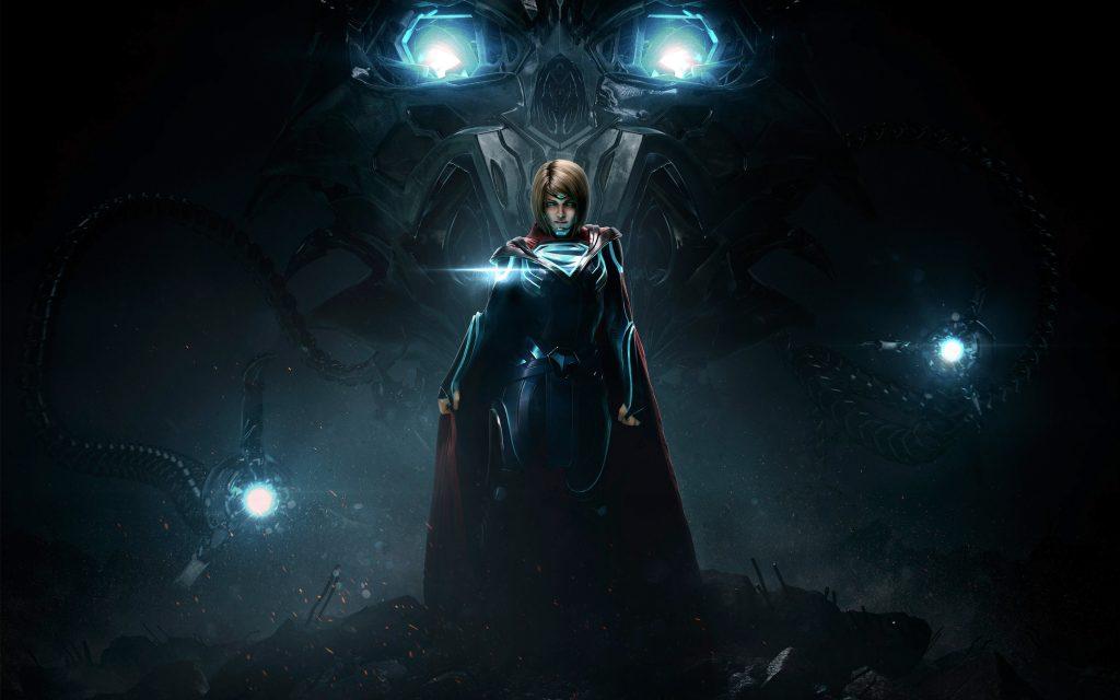 Несправедливость 2 супергерл. обои скачать