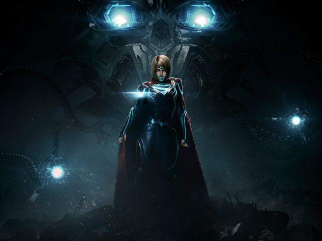 Несправедливость 2 супергерл.