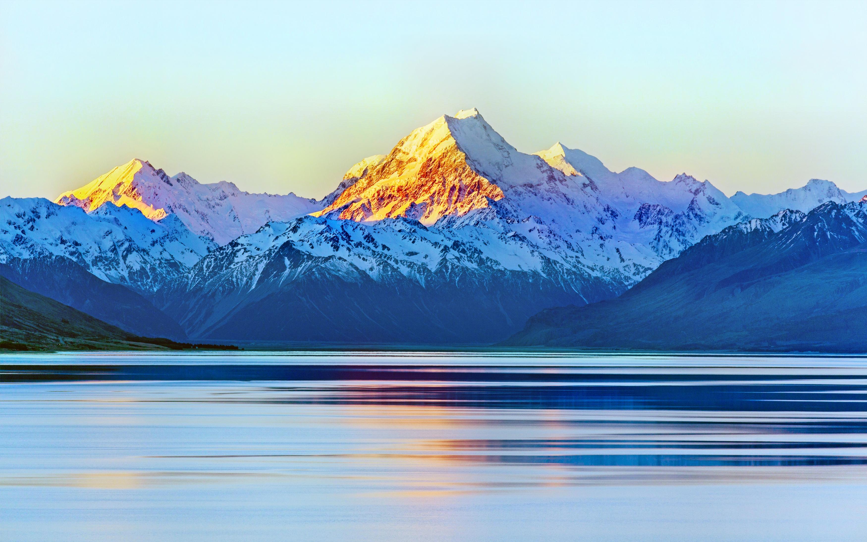 Аораки Маунт-Кук, Новая Зеландия. обои скачать