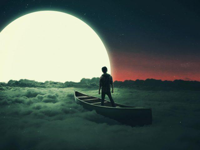 Лунный сон в летающей лодке