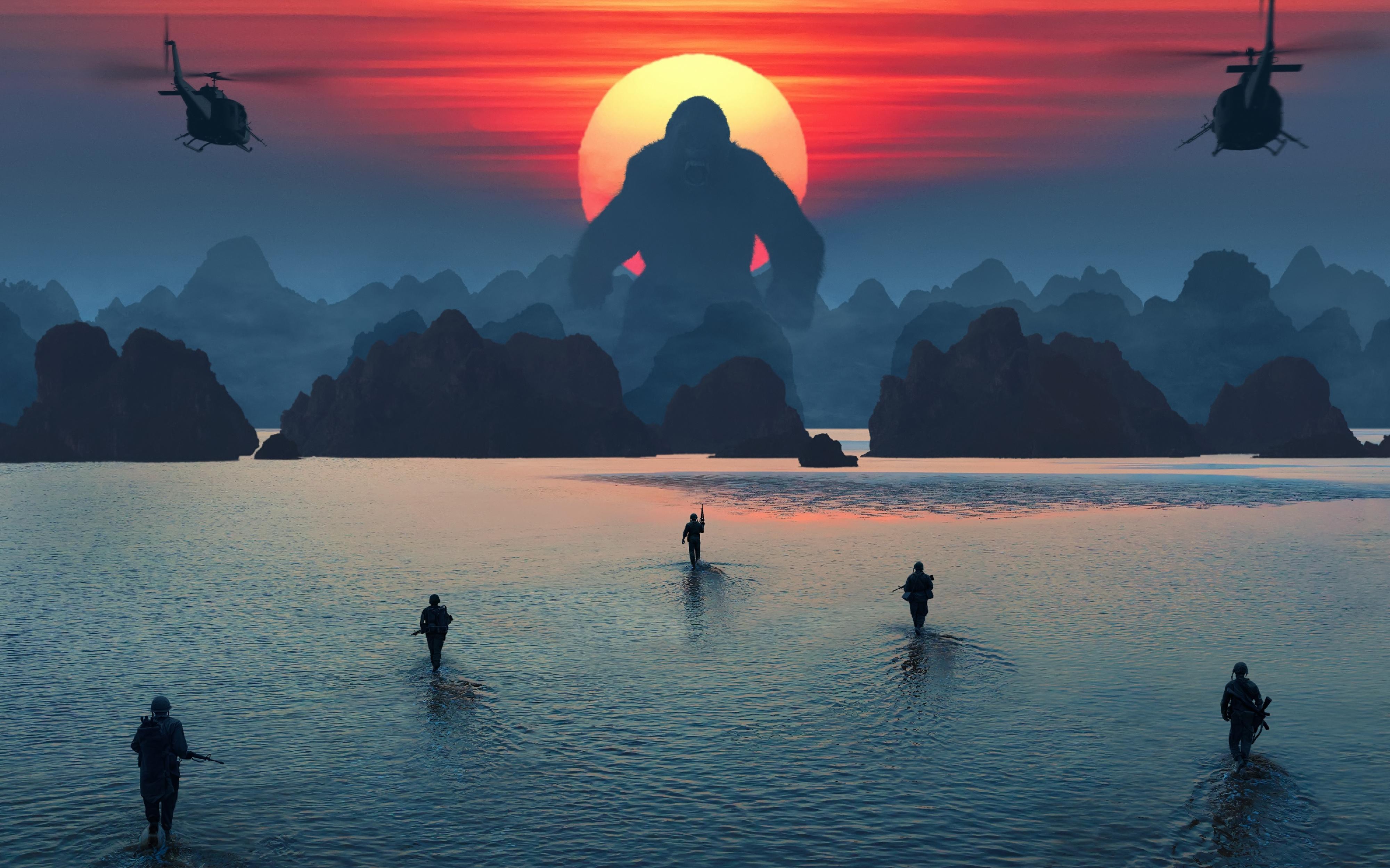 Остров черепа Гонконг. обои скачать