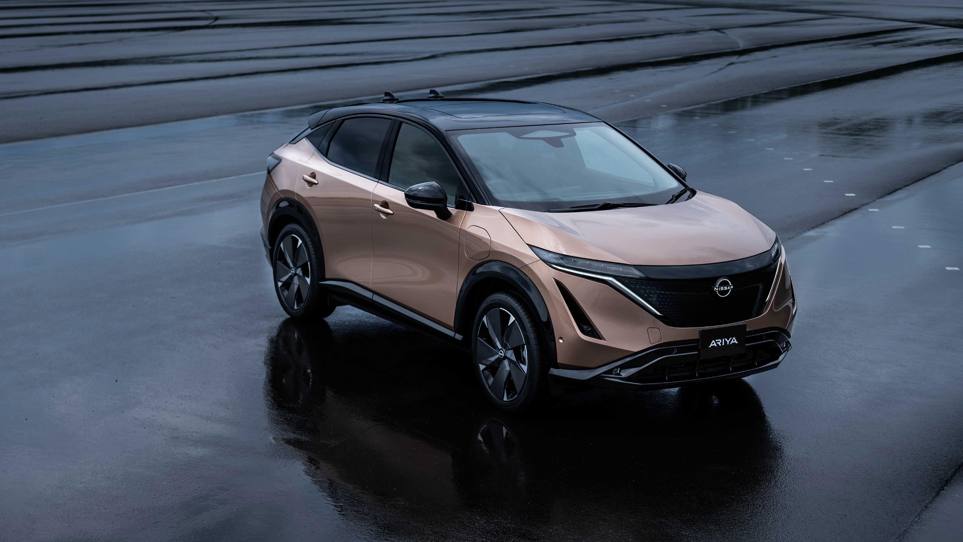 Nissan ariya e-4orce 2020 обои скачать