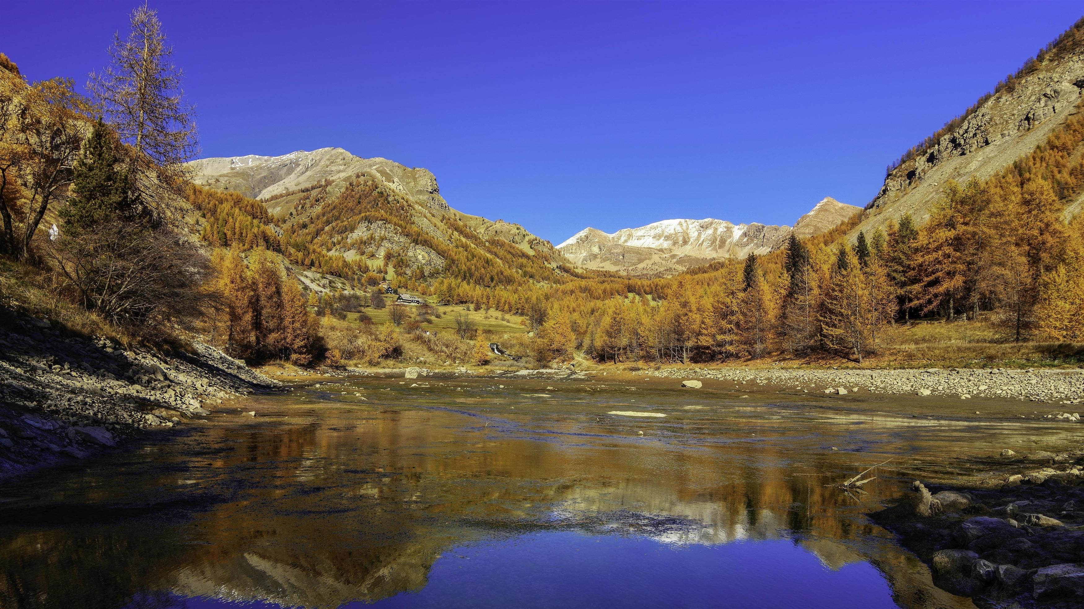 Осенний пейзаж обои скачать