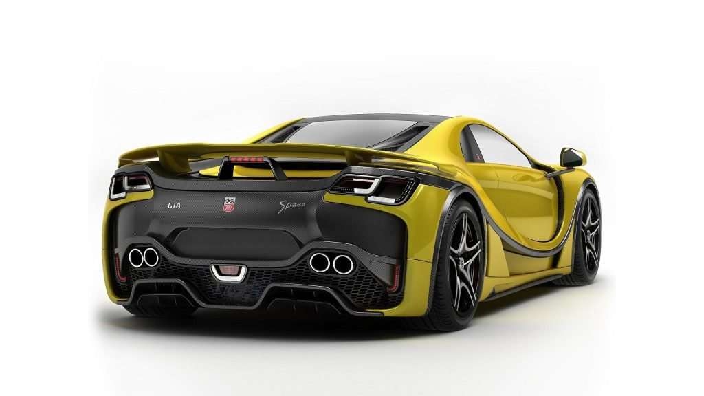 Spania gta spano sport yellow car cars обои скачать
