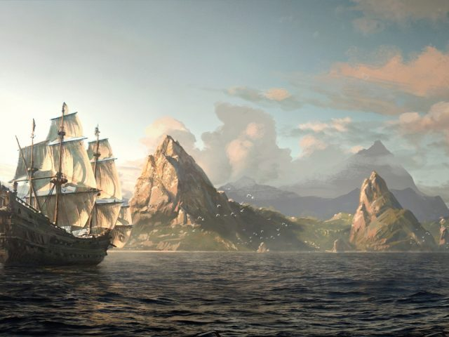Assassin's Creed IV: Black Flag,  ассасин,  пират,  Эдвард Кенуэй