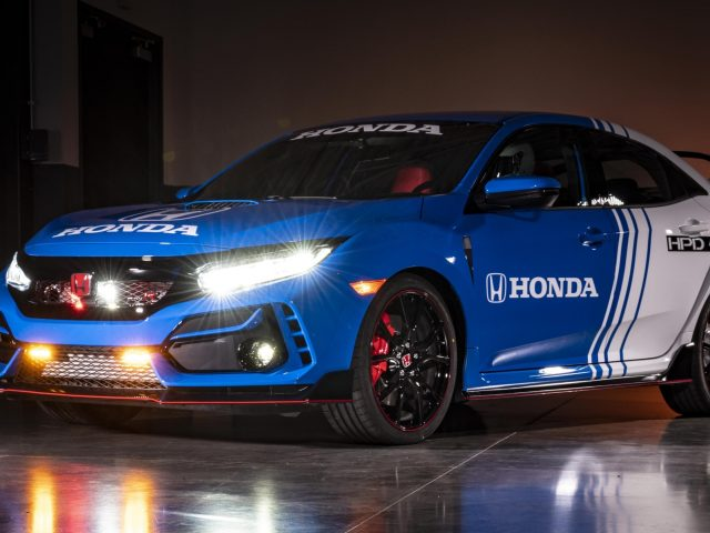2020 honda civic type r pace car автомобили