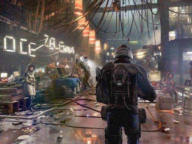 В Deus Ex человечество разделено геймплей