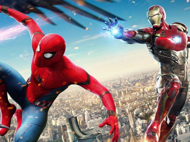 Железный человек и Человек-паук
