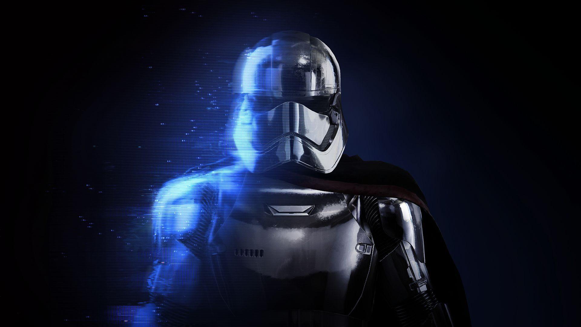Капитан phasma Звездные войны Battlefront II в обои скачать
