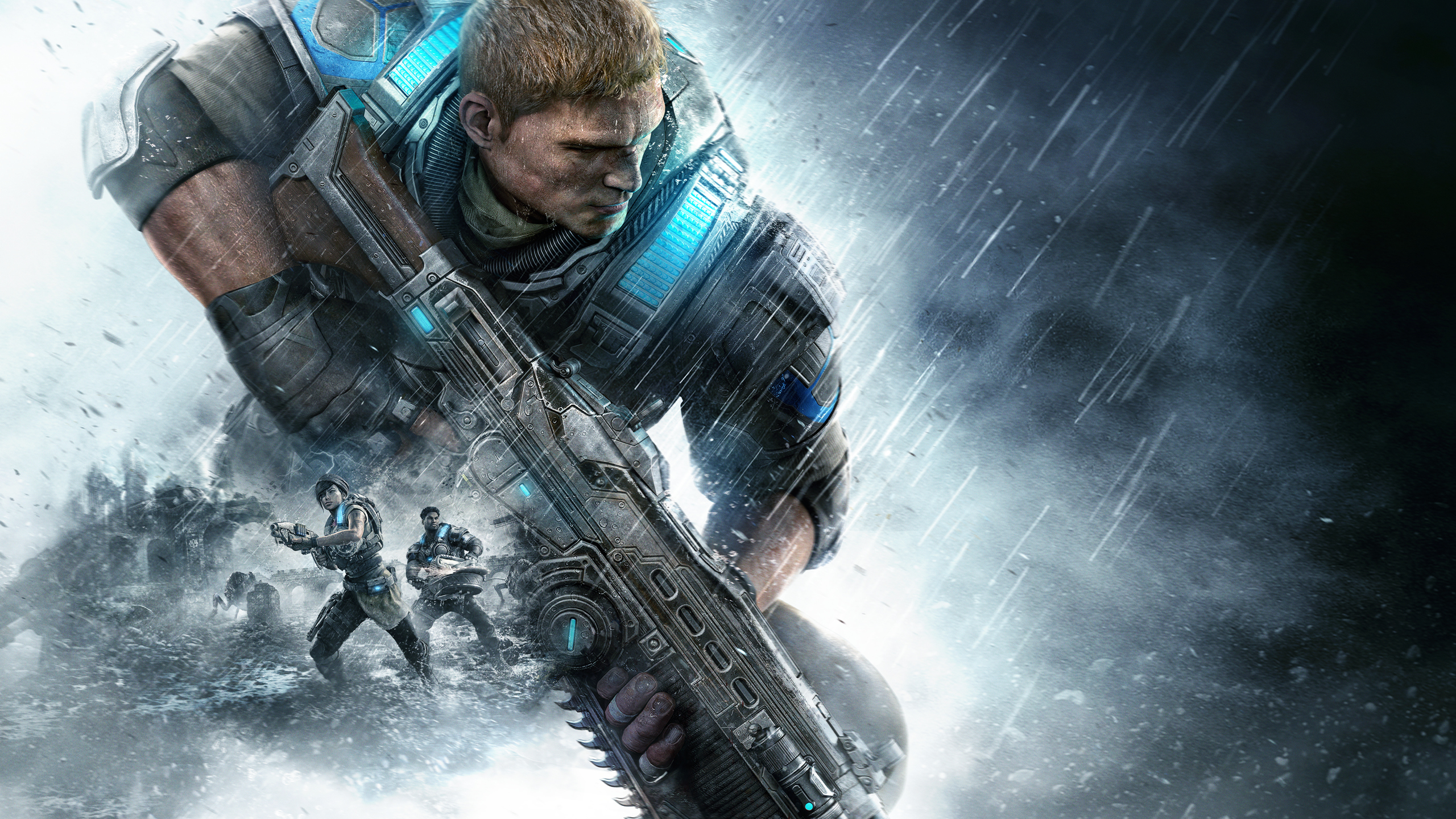 Gears of War 4 Xbox One обои скачать