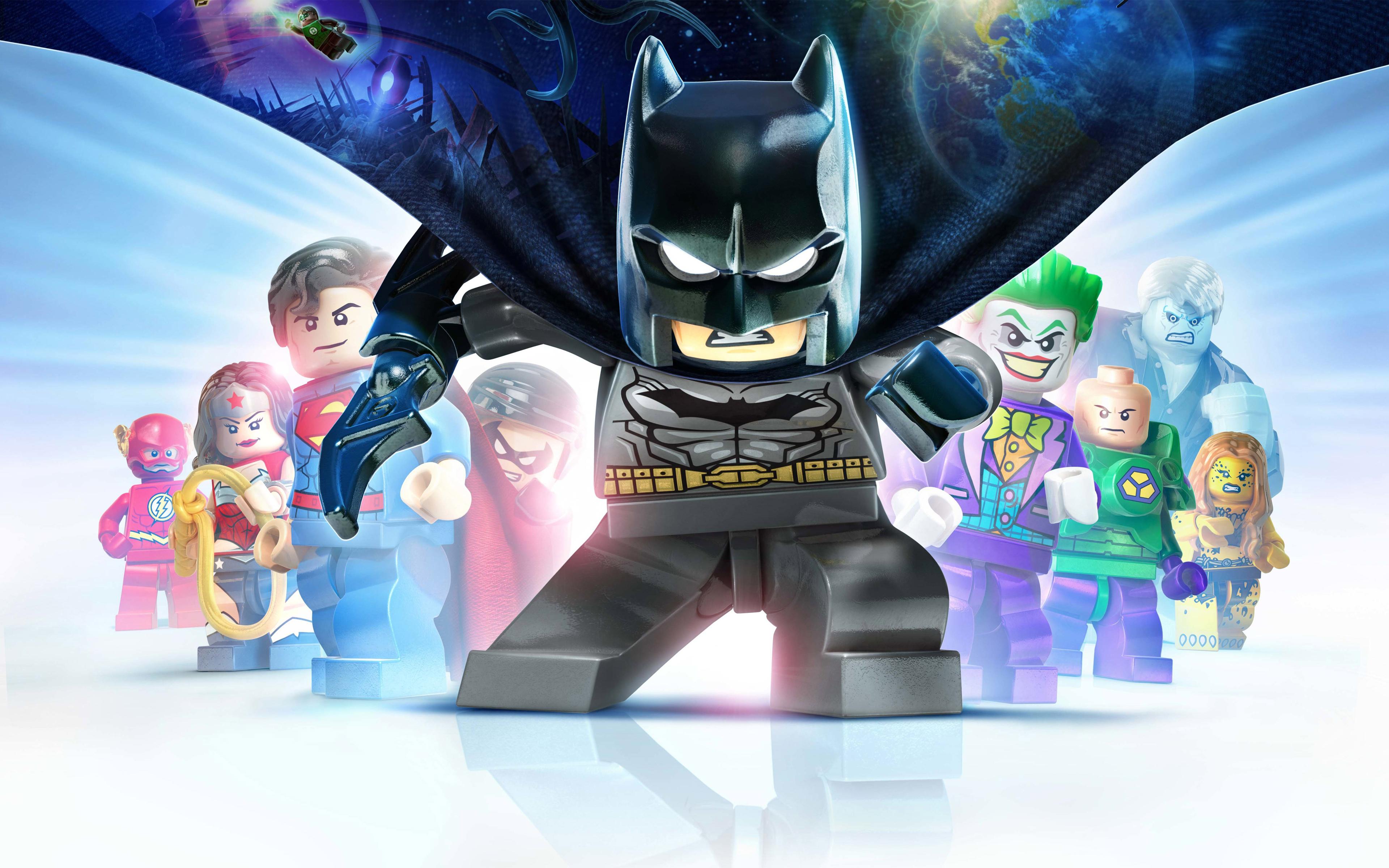 Лего Бэтмен 3 покидая Готэм. обои скачать