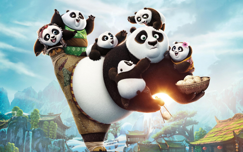Кунг-фу Панда 3. обои скачать