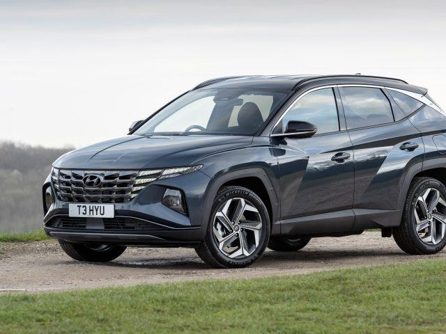 Hyundai Tucson hybrid 2021 автомобили
