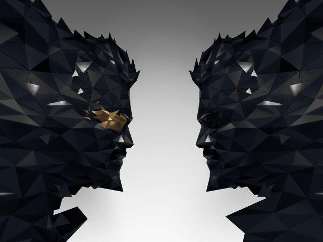 В Deus Ex человечество разделено игру