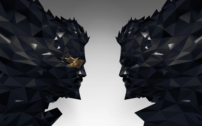 В Deus Ex человечество разделено игру обои скачать